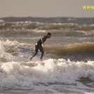 Man walks on water?, Langland Bay