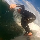 Asbury Park Surfing Still from GoPro