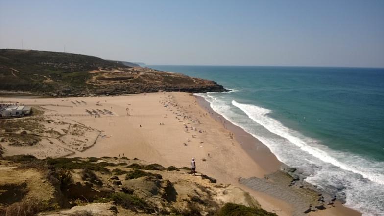 Foz do Lizandro surf break