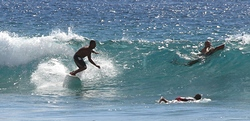 Un día en la playa, Playa Los Cerritos photo