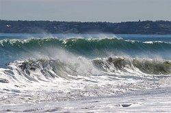 """Double Wave at """"Nanny"""", Nantasket Beach photo"""