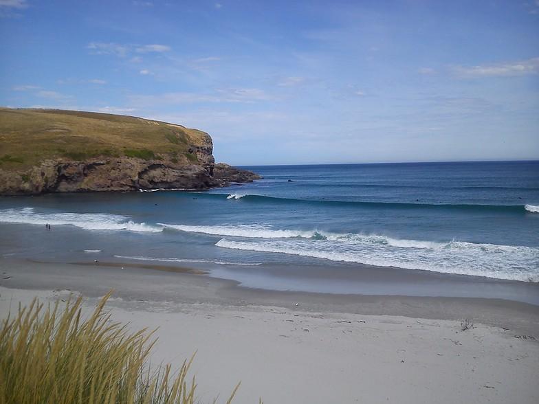 Otago Peninsula - Smaills Beach break guide