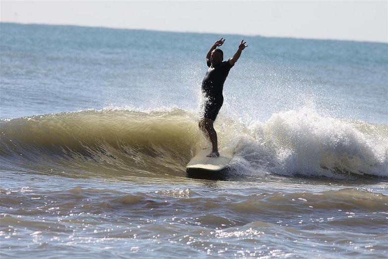 Fish Pass Jetty surf break