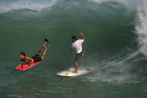 El Palmer surf break