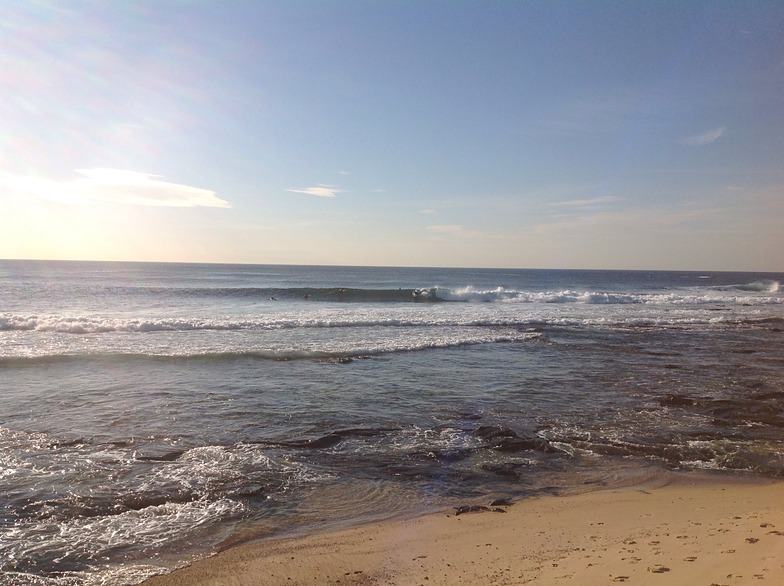 Cowrie Hole surf break