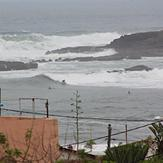 Huge Swell in March 2012 at Pont Blondin