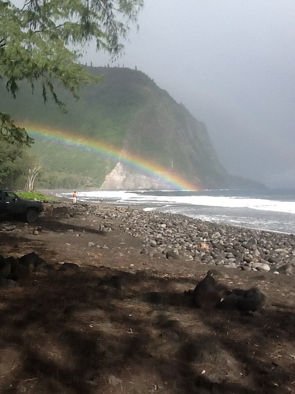 Waipio Bay surf break