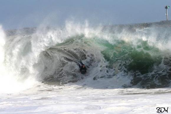 The Wedge surf break
