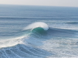 The perfect wave, Praia do Norte photo