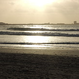 Cantinho at sunset