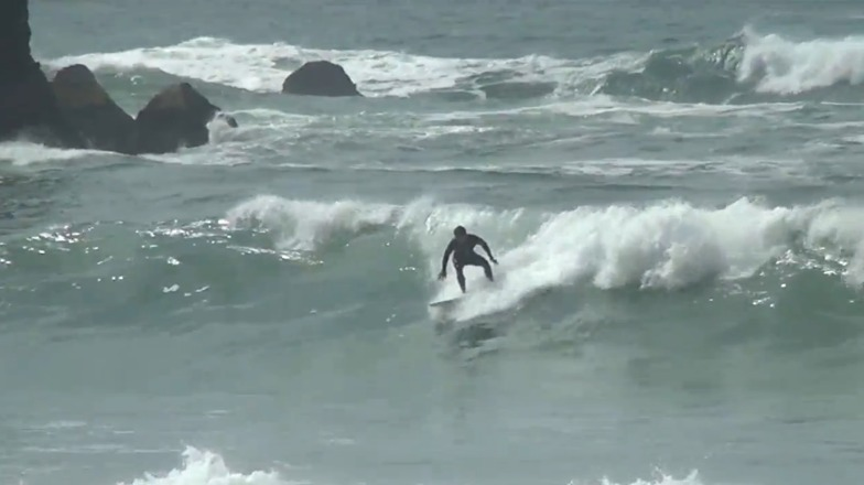 Rockaway surf break