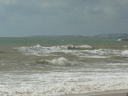 Strong SW wind, Forte Novo photo