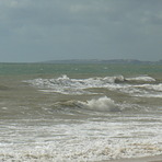 Strong SW wind, Forte Novo