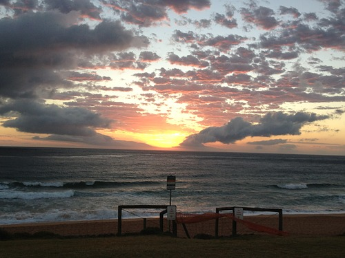 Morning Sunrise, Palm Beach