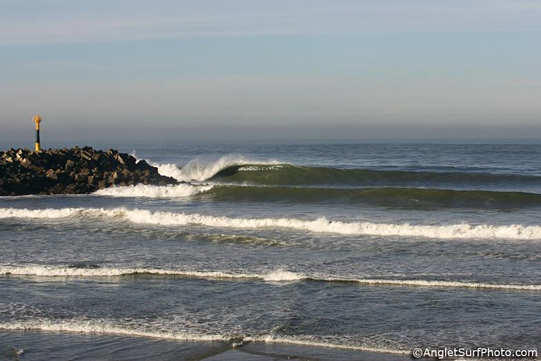 Anglet - La Barre surf break