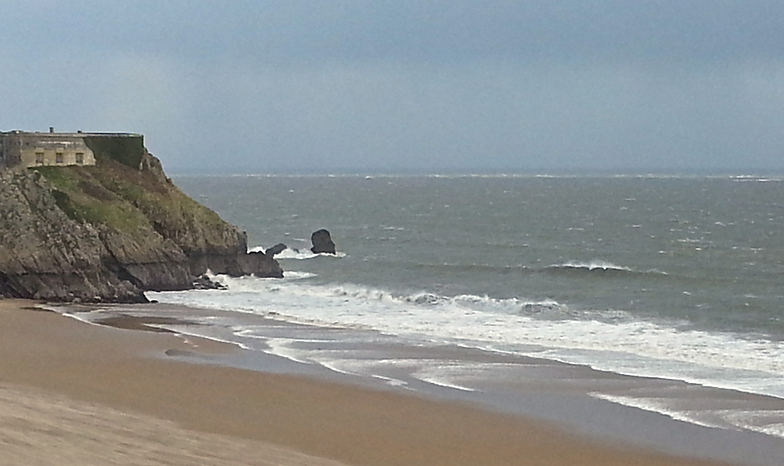 Not working, Tenby (South Beach)
