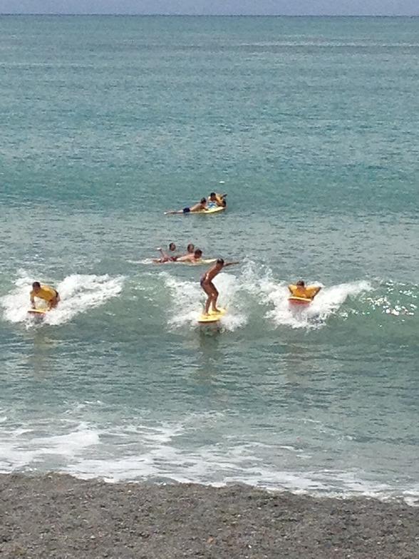 West Shore Beach surf break