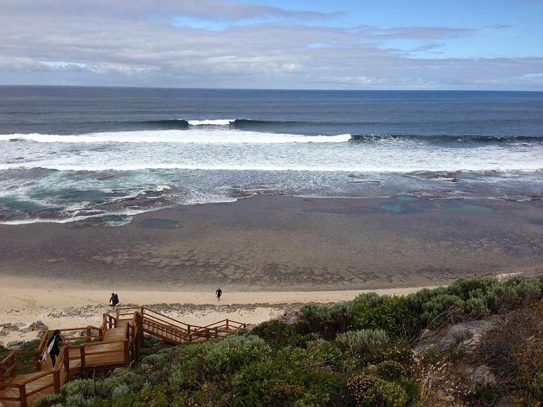 The Guillotine surf break