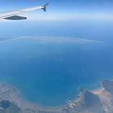 From a Wellington-Sydney Flight, Farewell Spit