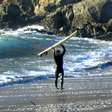 Peter at Hare Creek Beach
