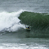 Gone left..., Steamer Lane-Middle Peak