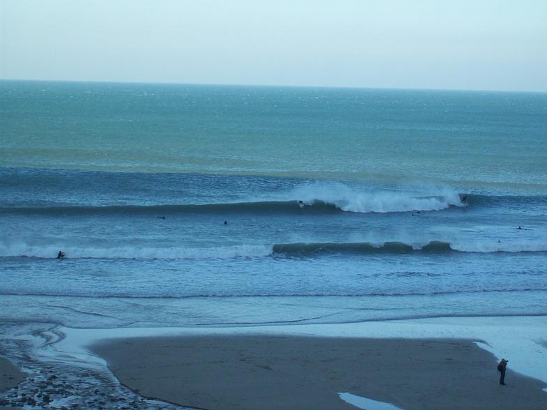 St Agnes surf break