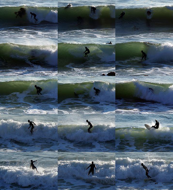 Royal Palms State Beach surf break