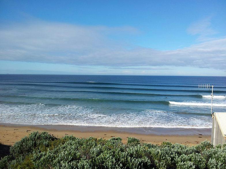 13th Beach-The Bluff surf break