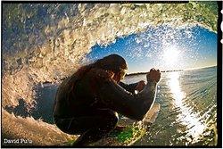 Catchin' a tube, Ventura Point photo