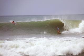 El Miramar surf break