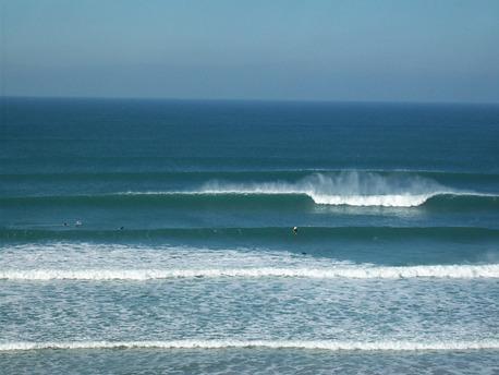 Gwithian surf break